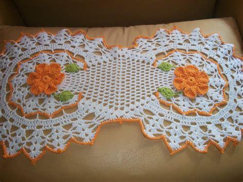 carpeta para mesa en crochet mis tejidos y algo mas mirtejidos artesanal caminito crochet decorado con 2