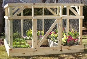 home depot nursery build an enclosure to protect your garden garden club
