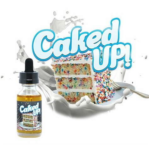 30ml caked up 6mg max vg eliquid with nicotine low eliquid by market vape co