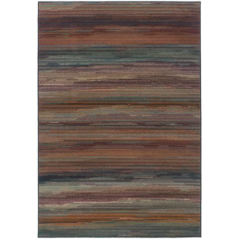 Rugs Home Decorators by Home Decorators Collection Regent Brown 5 Ft 3 In X 7 Ft
