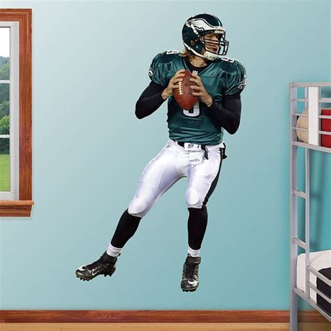 philadelphia eagles bedroom decor nick foles real big fathead wall graphic philadelphia