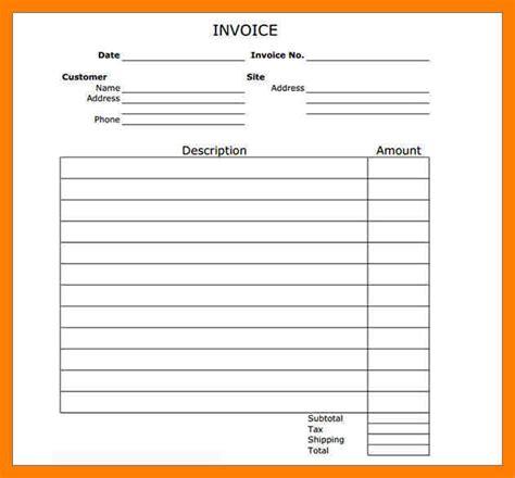 8 blank invoice template pdf cfo resumed
