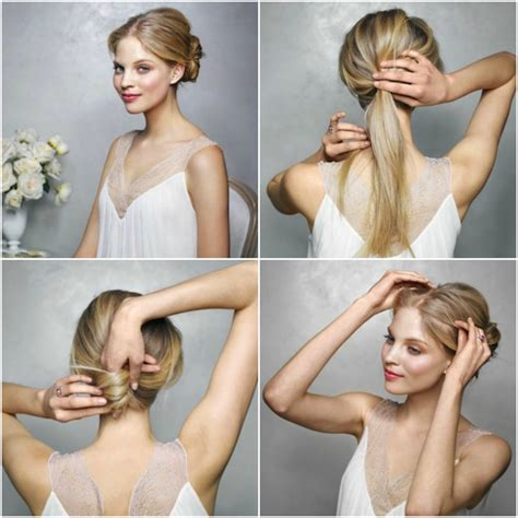 Vintage Wedding Hair Tutorial by Top 4 Diy Wedding Hair Tutorials Percy Handmade