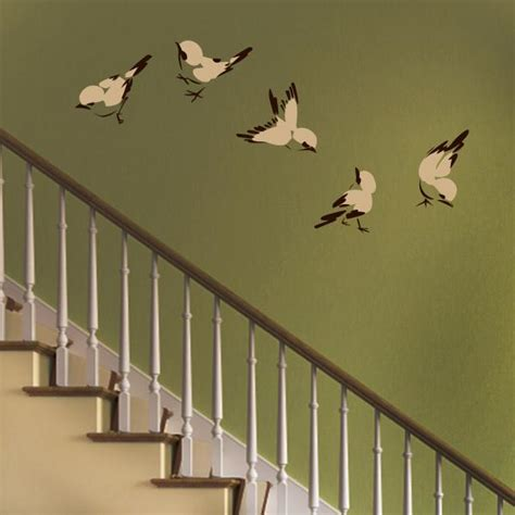 Bird Stickers For Walls printed bird wall decal set wall decal world