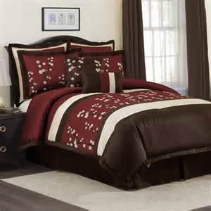 Lush Decor Bedding Reviews Lush Decor Lush Decor Cocoa Flower 8 Piece Comforter Set