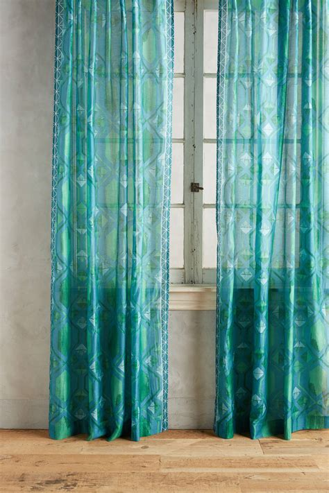 aquamarine curtains window coverings everything turquoise