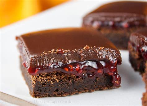 chocolate raspberry brownies chocolate raspberry mini brownies recipe dishmaps