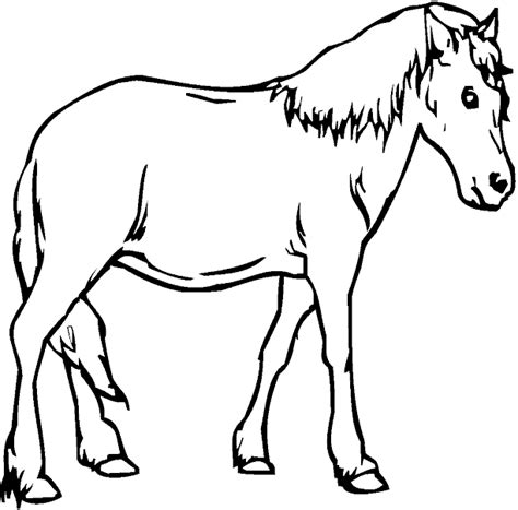 big coloring pages of horses kidprintables com coloring pages