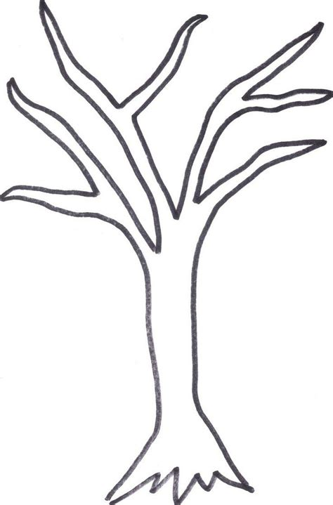 dead tree coloring page fall tree coloring page coloring pages tree without leaves
