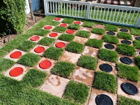 backyard chess set popular backyard and tailgating diy outdoor spaces