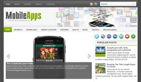blogger templates for mobile phones inspirational showcase of free blogger templates cssdive