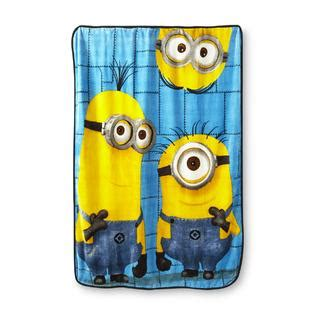 Despicable Me Minion Blanket by Despicable Me 2 Plush Fleece Throw Minions Home Bed