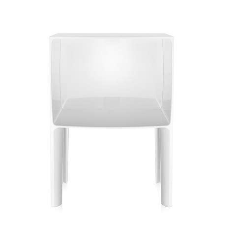 Table De Nuit Kartell by Kartell Table De Chevet Small Ghost Buster Blanc Teint 233