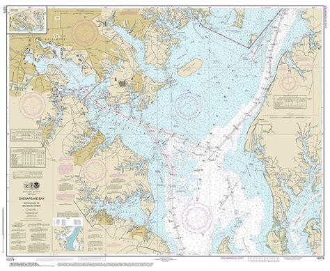 nautical maps chesapeake bay charts noaa chart 12221 chesapeake bay entrance ayucar