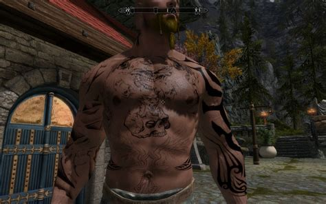 skyrim tattoo mod for at skyrim nexus mods and community