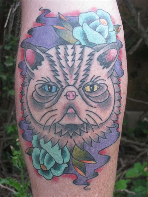 tattoo cat persian persian cats persian and tattoos and body art on pinterest