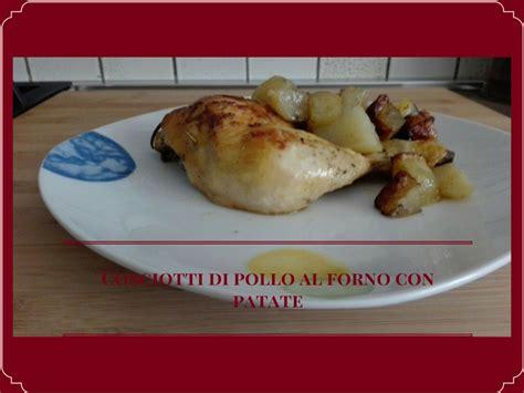 come cucinare i cosciotti di pollo cosciotti di pollo al forno con patate me magazine