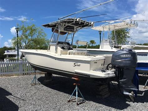 23 foot boat 2003 scout 23 center console boat for sale 23 foot 2003