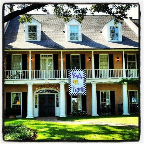 kd house kappa delta at lsu sorority row pinterest instagram the o jays and the tiger