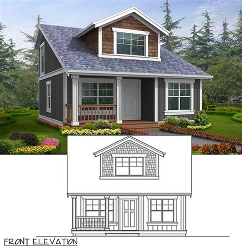 narrow small cottage house plans with 476 bes 15522
