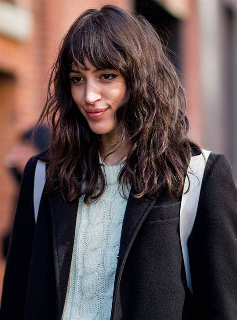 Pictures Of Black Hairstyles With Bangs by Best 25 Colored Bangs Ideas On Hair Fringe
