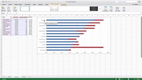 how to make gantt chart in microsoft excel 2013 step by elegant how to make gantt chart calendar