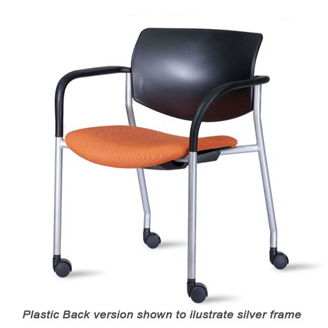Gt Trevose Stack Chair retro guest chairs by steelcase avon laminate seat and back guest chairs with connecting corner