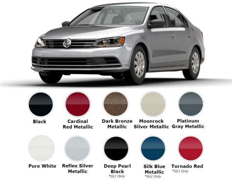 2017 volkswagen jetta trims and color options