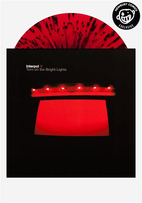 interpol turn on the bright lights interpol turn on the bright lights exclusive lp color