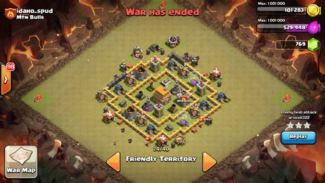 clash of clans war base 6 clash of clans tactics level 6 town hall war base