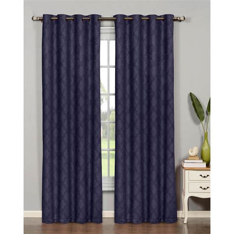 bella luna curtains bella luna semi opaque newbury lattice 84 in l room