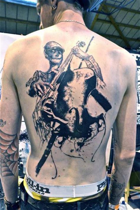 r 252 cken musik tattoo von toko l 246 ren tattoo