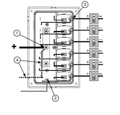boat wiring fuse panel diagram boat free engine image for user manual