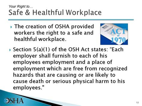 introduction to osha gt slide 12