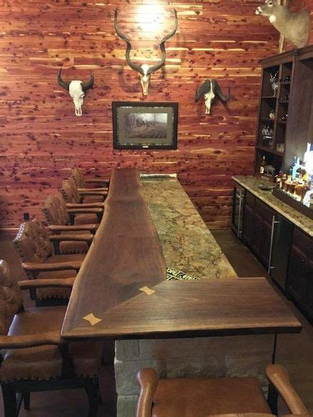 edge black walnut bar awesome woodworking project
