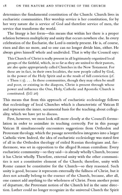 Church Essay by Nature Of The Church Essay