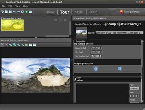 panoramic web web display of panoramic photos