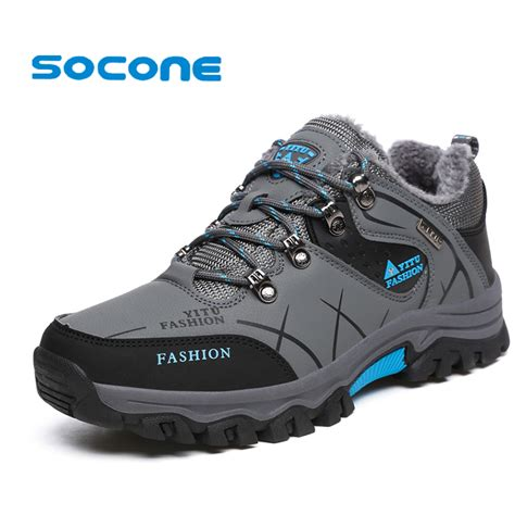 safety sport shoes socone 2017 warm climbing shoes outdoor waterproof