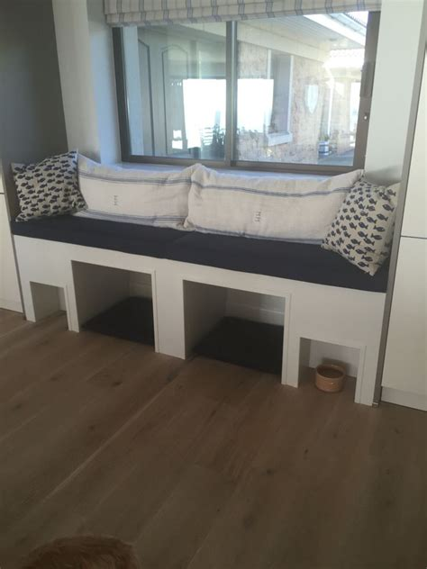 bed with built in dog bed built in dogs bed window seat feeding area my home