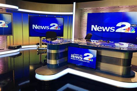 Wc Bd by Media General Launches Sets Newscaststudio