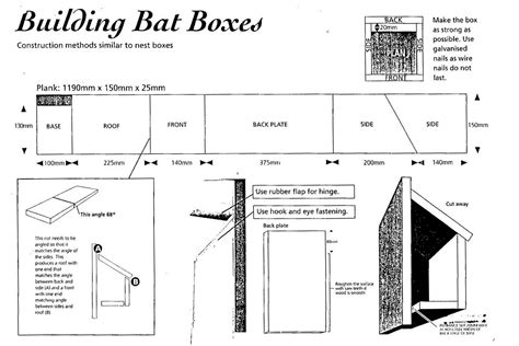 how to create a house plan how to make a bat box images frompo