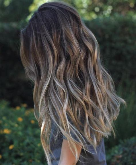 Grey Hair 2015 Highlight Ideas | 40 ideas of gray and silver highlights on brown hair