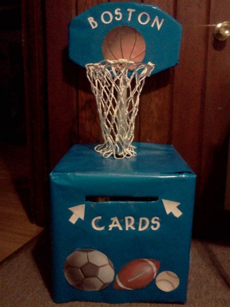 sports box ideas 17 best images about baby shower gift card box on