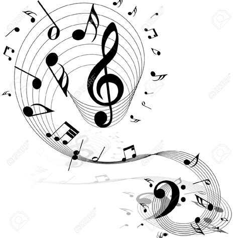 clipart musicali clipart partition musicale clipground