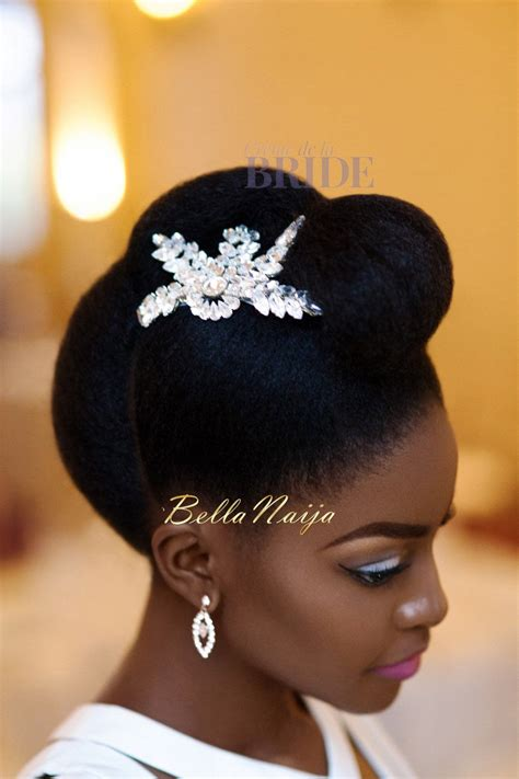 wedding hairstyles natural afro hair dionne smith natural hair bride inspiration bellanaija