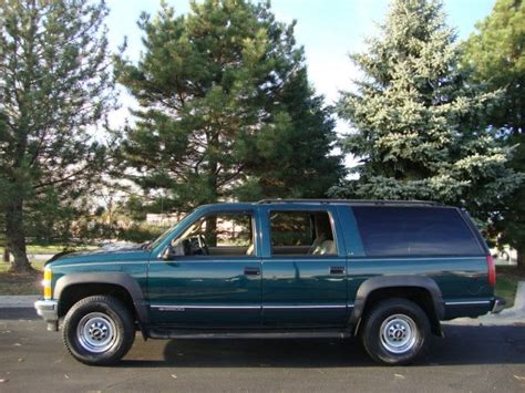 service manual blue book used cars values 1997 chevrolet suburban 1500 navigation system
