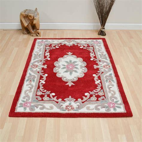 chinesische teppiche chinesische teppiche 510 aubusson vollen schnitt in rot