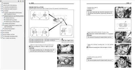 small engine repair manuals free download 2009 suzuki equator user handbook 2006 2009 suzuki lt z50 quadsport repair service manual myatvmanual com