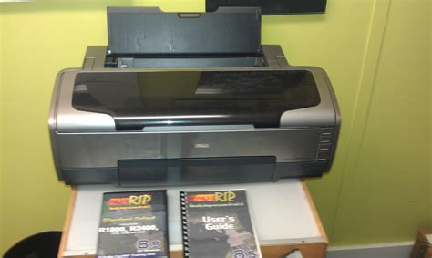 epson r1800 printer with rip separation fastrip and separation soft