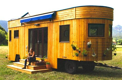 small eco friendly homes live off grid travel in this beautiful tiny home caravan